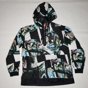 Nike NSW All Over Marble Anorak Jacket L Black